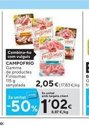 Oferta de Charcutería Campofrío por 2.05€