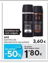 Oferta de Desodorante en spray Axe por 3.6€
