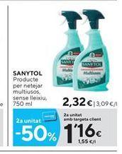 Oferta de Limpiadores Sanytol por 2.32€