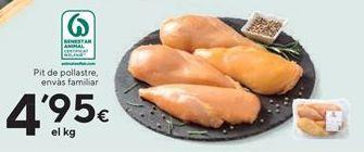 Oferta de Pechuga de pollo por 4.95€