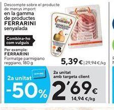 Oferta de Queso parmesano Ferrarini por 5.39€