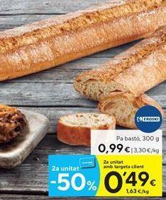 Oferta de Pan eroski por 0.99€