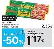 Oferta de Masas Buitoni por 2.35€