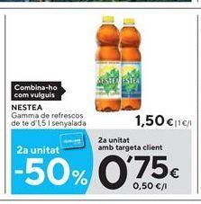 Oferta de Té helado Nestea por 1,5€