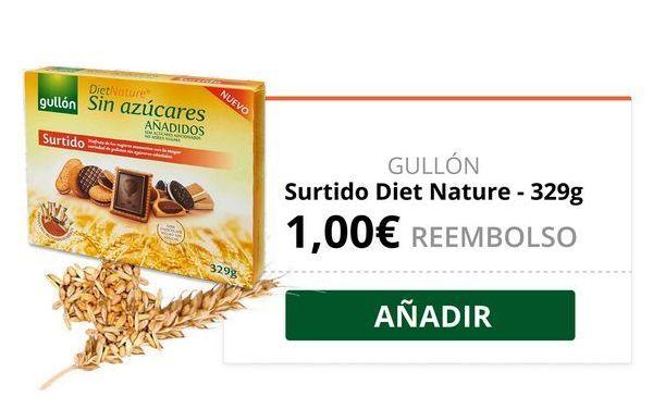 Oferta de Galletas sin azúcar Gullón por