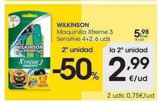 Oferta de Maquinilla desechable Wilkinson por 5.98€