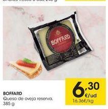 Oferta de Queso de oveja Boffard por 6.3€