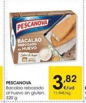 Oferta de Bacalao Pescanova por 3.82€