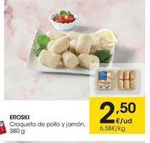 Oferta de Croquetas eroski por 2.5€