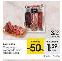 Oferta de Embutidos Palcarsa por 3.19€