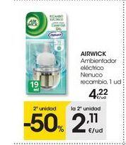 Oferta de Ambientadores airwick por 4.22€