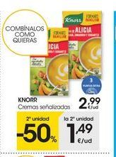 Oferta de Cremas Knorr por 2.99€