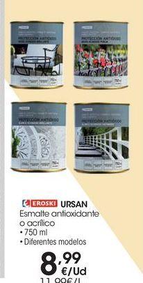 Oferta de Esmalte antioxidante eroski por 8.99€