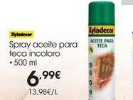 Oferta de Limpiador de madera Xyladecor por 6.99€