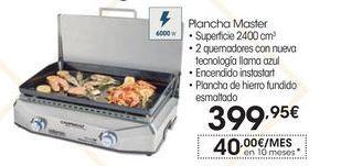 Oferta de Plancha de asar campingaz por 399,95€