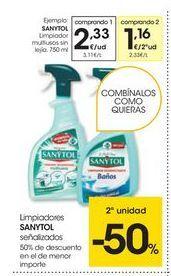 Oferta de Limpiadores Sanytol por 2.33€
