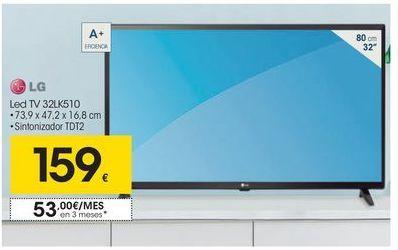 Oferta de Tv led 32'' LG por 159€