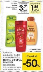 Oferta de Champú Elvive por 3.71€