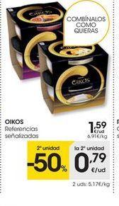 Oferta de Yogur griego OIKOS por 1.59€