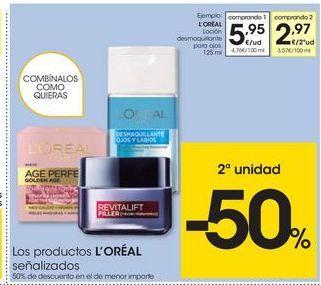 Oferta de Desmaquillante L'Oréal por 5.95€