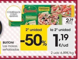 Oferta de Masas Buitoni por 2.39€