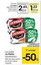 Oferta de Paté La Piara por 2.45€