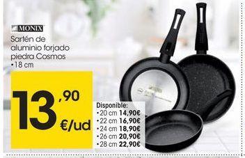 Oferta de Sartén de aluminio Monix por 13.9€