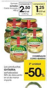 Oferta de Cardo troceado Gvtarra por 2.5€