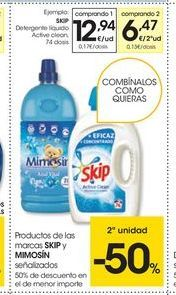 Oferta de Detergente líquido Skip por 12,94€