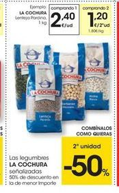 Oferta de Lentejas pardina La cochura por 2.4€
