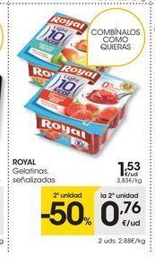 Oferta de Gelatina Royal por 1.53€