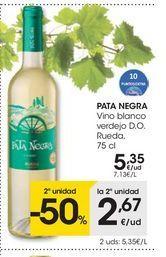 Oferta de Vino blanco Pata Negra por 5.35€