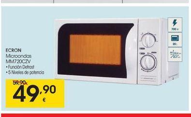 Oferta de Microondas Ecron por 49.9€