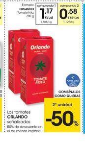 Oferta de Tomate frito Orlando por 1.17€