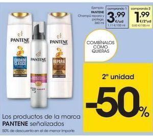 Oferta de Champú Pantene por 3.99€