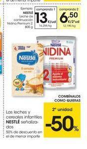 Oferta de Leche de continuación Nestlé por 13€