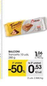 Oferta de Tranchetes Balconi por 1.06€