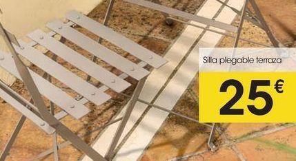 Oferta de Silla plegable eroski por 25€