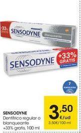 Oferta de Dentífrico Sensodyne por 3.5€