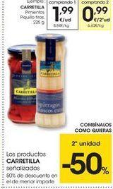 Oferta de Pimientos del piquillo Carretilla por 1.99€