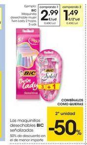Oferta de Maquinilla desechable BIC por 2.99€