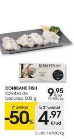 Oferta de Bacalao eroski por 9.95€
