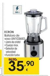 Oferta de Batidora de vaso Ecron por 35.9€