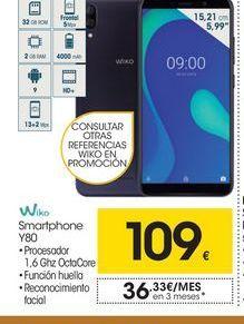 Oferta de Smartphones Wiko por 109€