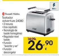 Oferta de Tostadora Russell Hobbs por 26.9€