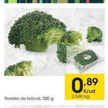 Oferta de Brócoli eroski por 0.89€