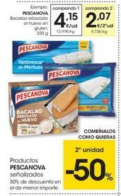 Oferta de Bacalao Pescanova por 4.15€