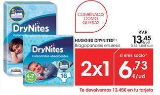 Oferta de Braga pañal Huggies por 13.45€