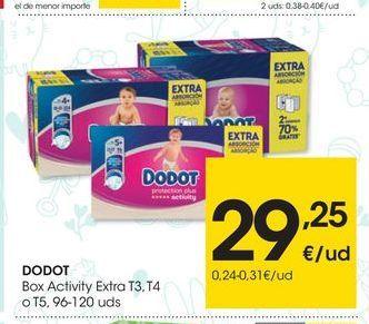 Oferta de Pañales Dodot por 29.25€