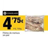 Oferta de Filetes de merluza por 4.75€